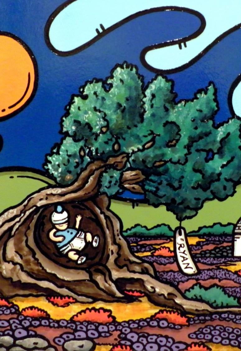 opera, contornismo metafisico, francesco ferrulli, pittore pugliese, artista italiano, arte contemporanea, dipinto, olio su tela, paesaggi pugliesi, puglia, quadro colorato, oil on canvas, art, painter, paesaggio pugliese, campagna pugliese, trulli, ulivi, fichi d'india, ryan